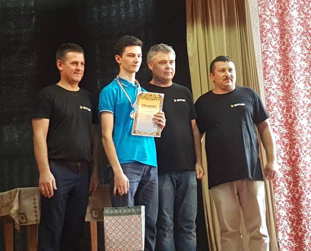 Переможець 1 ліги - Дмитро Майор