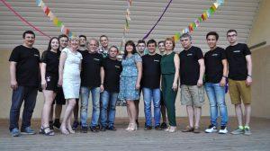 Лектори та оргкомітет Всеукраїнської літньої комп'ютерної школи в Кременчуці-2018