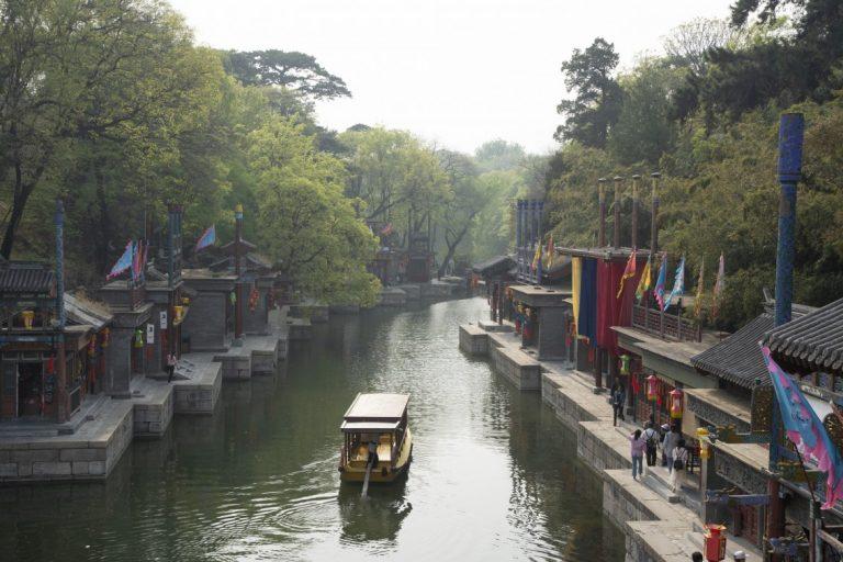 Нижня частина Літнього палацу мала нагадувати Південний Китай