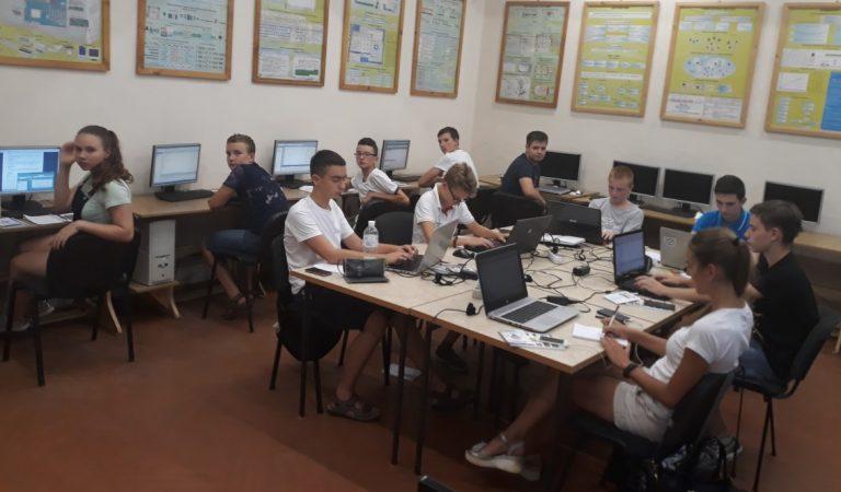 Літня комп'ютерна школа для учнів у Хусті-2018