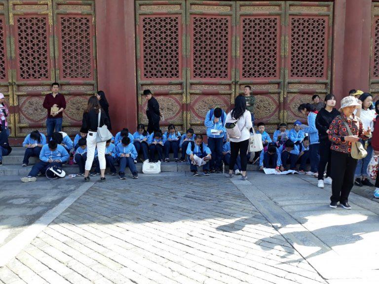 Урок для школярів у Забороненому місті