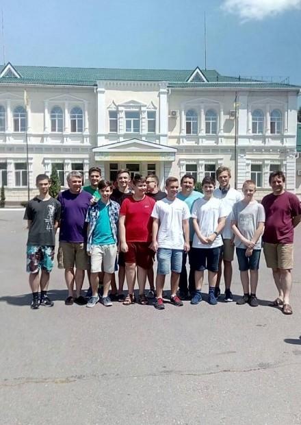 Закарпатська група на Літній компютерній школі в Кременчуці