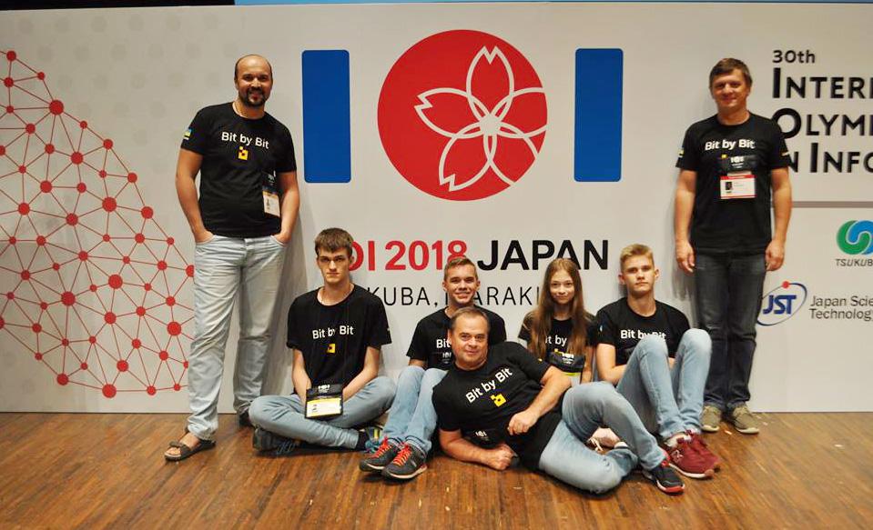 Збірна команда України в Японії