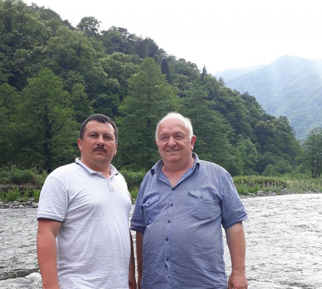 Олександр Міца та Ібраім Дідманідзе в горах Аджарії