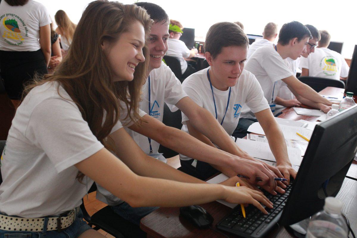 Як в Ужгороді проходить Міжнародна літня школа з програмування (фоторепортаж)