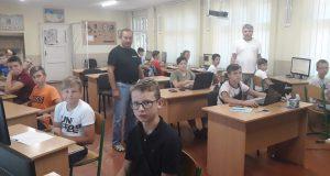 У Хусті проходить ІІІ Всеукраїнська учнівська школа з програмування