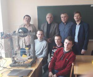 Студенти-айтівці УжНУ сконструювали власний 3D-принтер