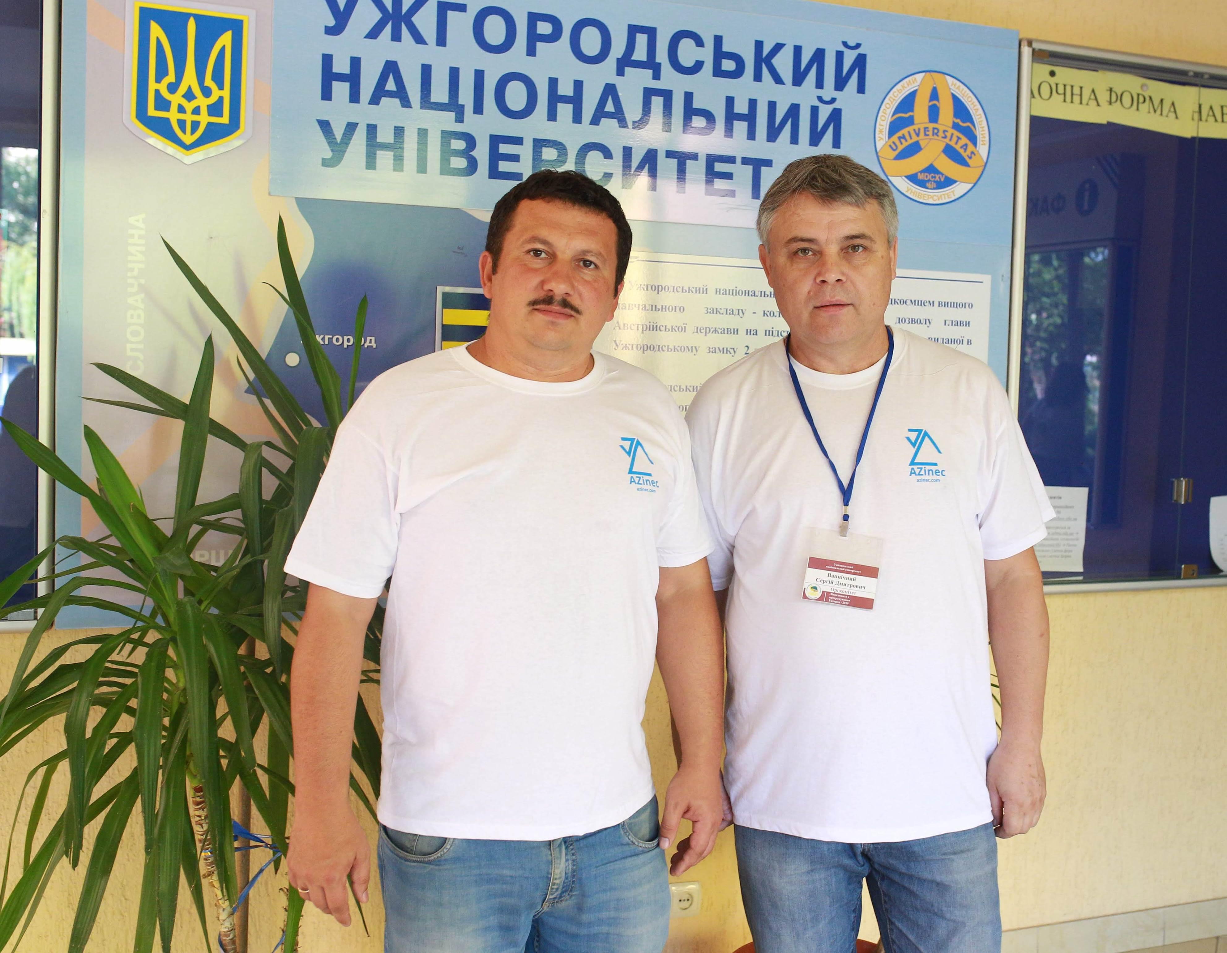 Тренери студентських команд - Олександр Міца та Сергій Вапнічний